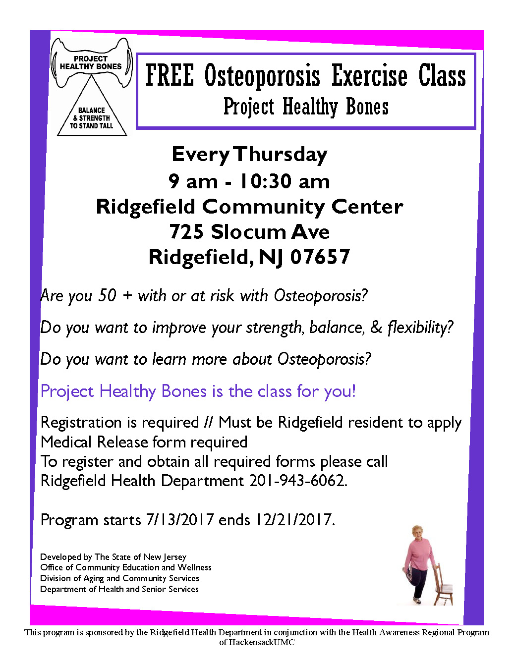 Nj familycare application nj - Project Healthy Bones